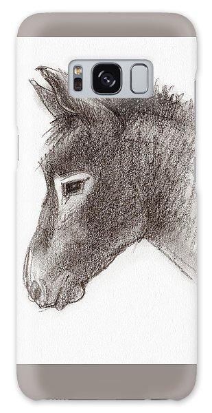 Portrait Of A Mule Galaxy Case