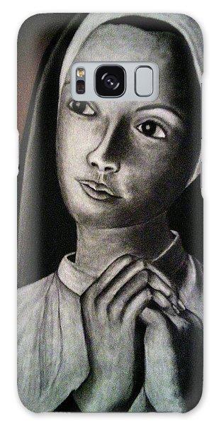 Portrait Of A Nun Galaxy Case