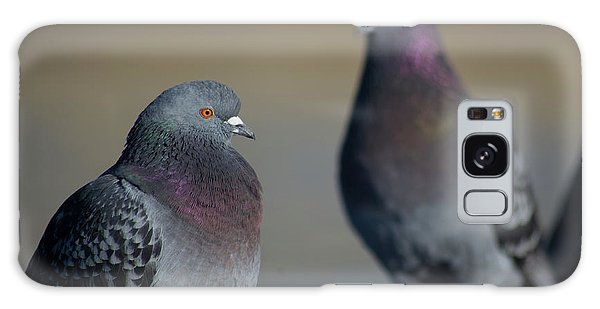 Galaxy Case featuring the photograph Portrait Of A Pigeon by Lora Lee Chapman