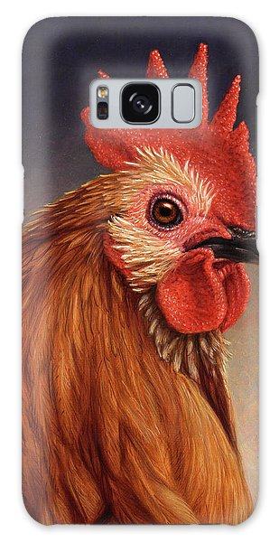 Portrait Of A Rooster Galaxy Case