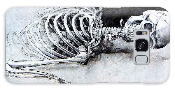 Portrait Of A Skeleton Galaxy Case