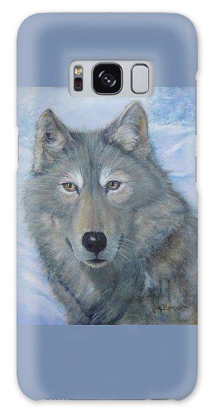 Portrait Of A Wolf Galaxy Case