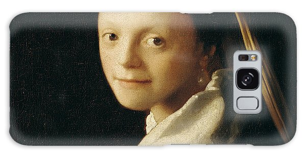 Vermeer Galaxy Case - Portrait Of A Young Woman by Jan Vermeer