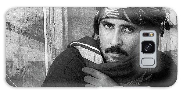 Portrait Of An Arab Man Galaxy Case