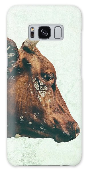Cow Galaxy S8 Case - Portrait Of Bess by Katherine Smit