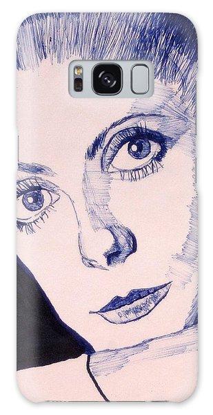 Portrait Of Catherine Galaxy Case