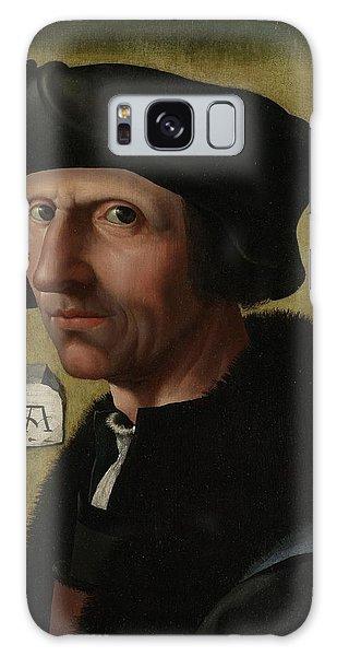 Portrait Of Jacob Cornelisz Van Oostsanen Galaxy Case