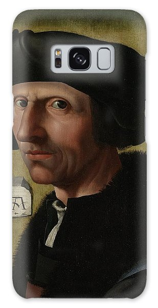 Portrait Of Jacob Cornelisz Van Oostsanen Galaxy Case
