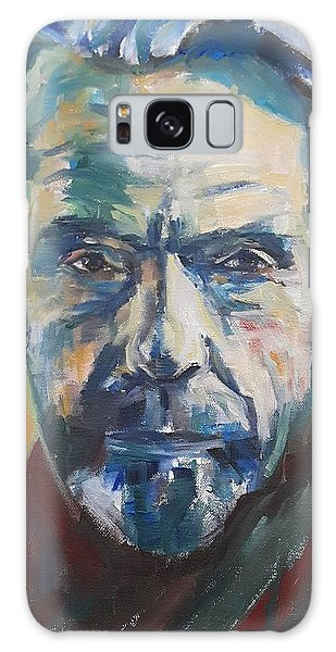 Portrait Of Jeremy Galaxy Case