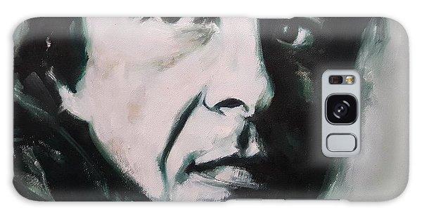 Portrait Of Leonard Cohen Galaxy Case