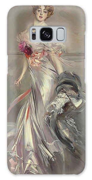 Boa Constrictor Galaxy Case - Portrait Of Marthe Regnier by Giovanni Boldini