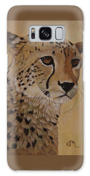 Galaxy Case - Portrait Of Murphy - Male Cheetah by Antonio Marchese