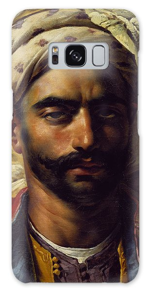 Turban Galaxy Case - Portrait Of Mustapha by Anne Louis Girodet de Roucy-Trioson