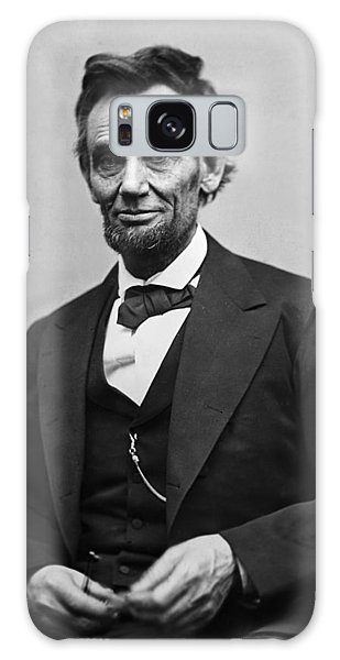 Abraham Lincoln Galaxy Case - Portrait Of President Abraham Lincoln by International  Images