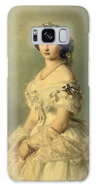 Portraits Galaxy S8 Case - Portrait Of Princess Of Baden by Franz Xaver Winterhalter