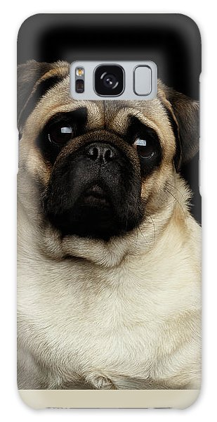 Portrait Of Pug Galaxy Case