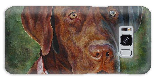 Portrait Of Remington 0094_2 Galaxy Case