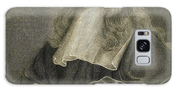 Scientific Illustration Galaxy Case - Portrait Of Sir Isaac Newton by Sir Peter Lely