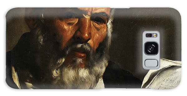Philosopher Galaxy Case - Portrait Of The Philosopher Anaximander by Pietro Bellotti