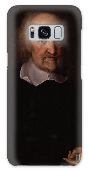 Philosopher Galaxy Case - Portrait Of Thomas Hobbes by John Michael Wright