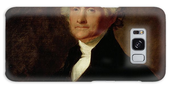 Portrait Of Thomas Jefferson Galaxy Case