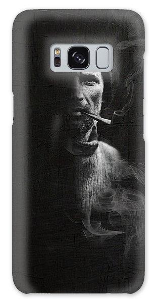 Portrait Of Tom Crean Antarctic Explorer Galaxy Case