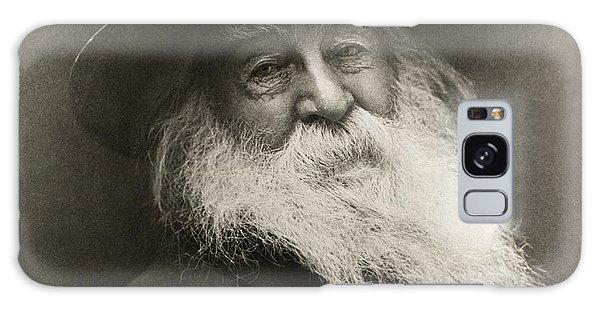 Portrait Of Walt Whitman Galaxy Case