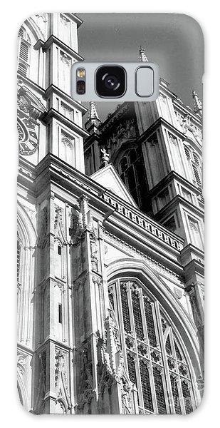 Portrait Of Westminster Abbey Galaxy Case