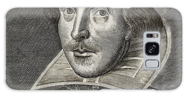 Portrait Of William Shakespeare Galaxy Case