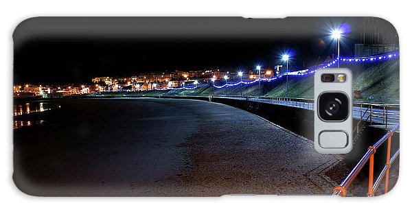 Portrush Seafront At Night Galaxy Case