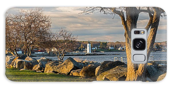 Portsmouth Harbor Light At New Castle Commons Galaxy Case