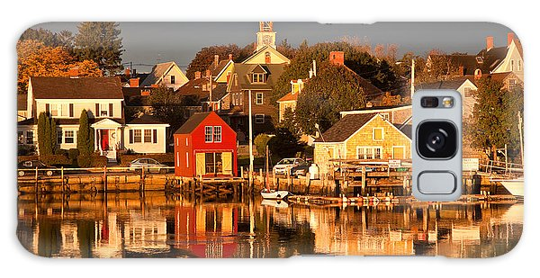 Portsmouth Reflections Galaxy Case by Susan Cole Kelly