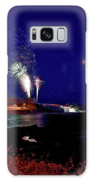 Portstewart Fireworks Galaxy Case