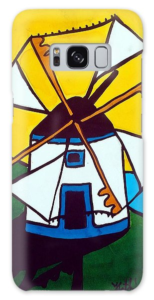 Portuguese Singing Windmill By Dora Hathazi Mendes Galaxy Case