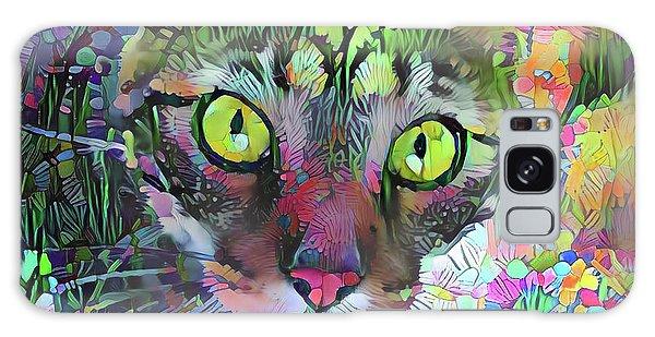Posie The Tabby Cat Galaxy Case