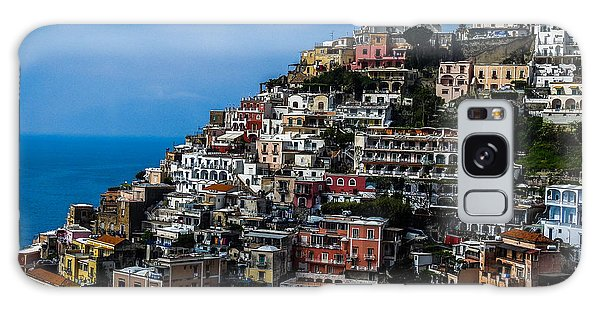 Positano's Terraced Landscape Galaxy Case