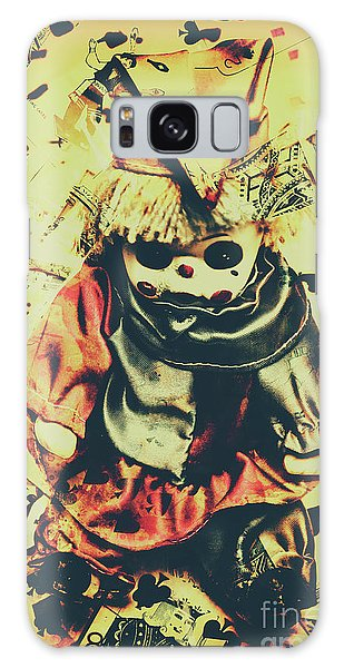 Voodoo Galaxy Case - Possessed Vintage Horror Doll  by Jorgo Photography - Wall Art Gallery