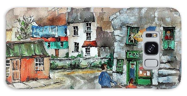 Post Office Mural In Ennistymon Clare Galaxy Case