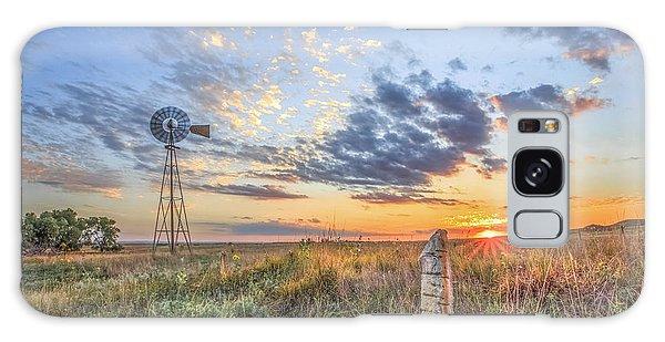 Fence Post Galaxy Case - Post Rock Country by Jill Van Doren Rolo