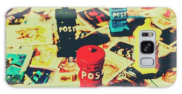 Pendant Galaxy Case - Postage Pop Art by Jorgo Photography - Wall Art Gallery