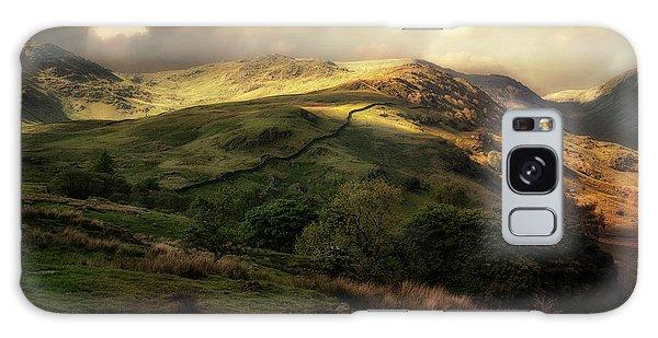 Postcard From Scotland Galaxy Case by Jaroslaw Blaminsky