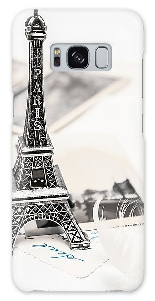 Postcards And Letters From Paris Galaxy Case