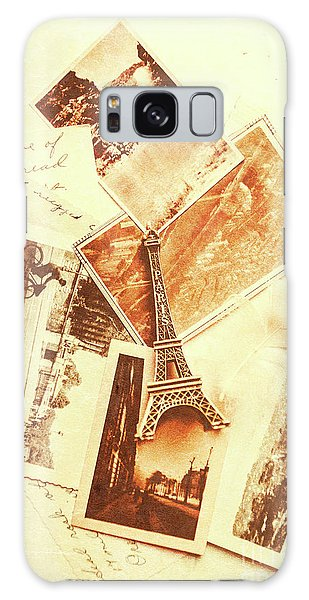 Time Frame Galaxy Case - Postcards And Letters From The City Of Love by Jorgo Photography - Wall Art Gallery