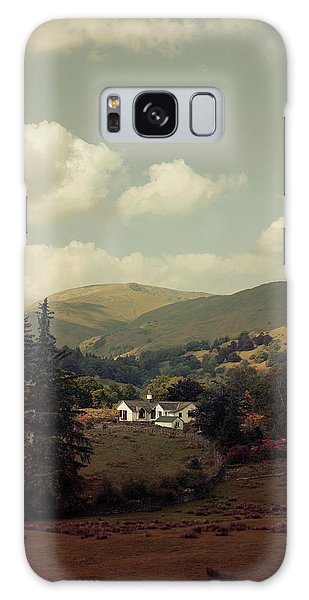 Postcards From Scotland Galaxy Case by Jaroslaw Blaminsky