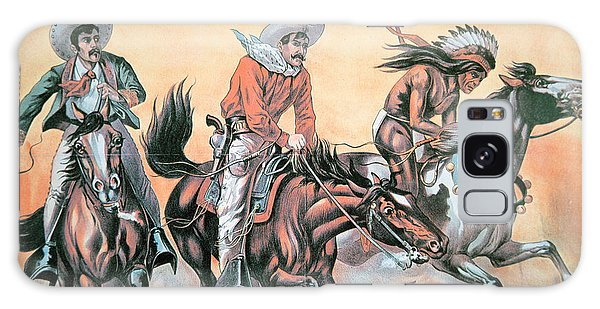 Whip Galaxy Case - Poster For Buffalo Bill's Wild West Show by American School