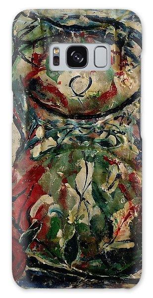 Potpourri Vase With Rose Galaxy Case