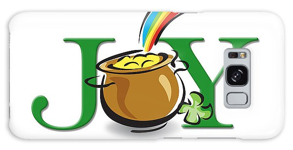 Pot Of Gold Joy Galaxy Case by Greg Slocum