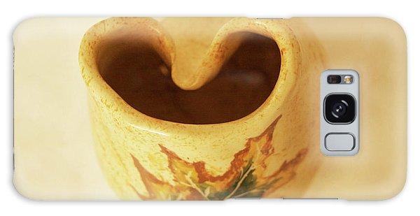 Pot On  A Leaf Galaxy Case by Itzhak Richter