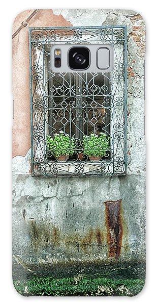 Pot Plant Window Galaxy Case