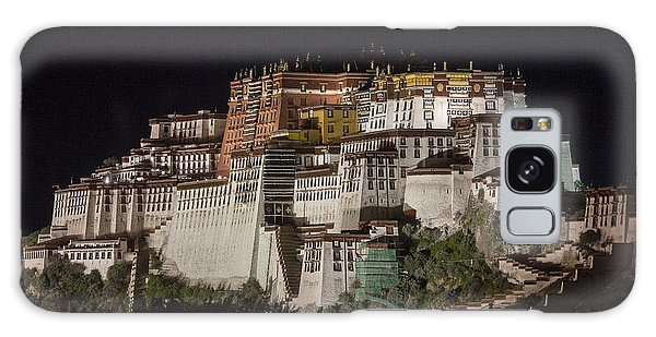 Potala Palace At Night Galaxy Case